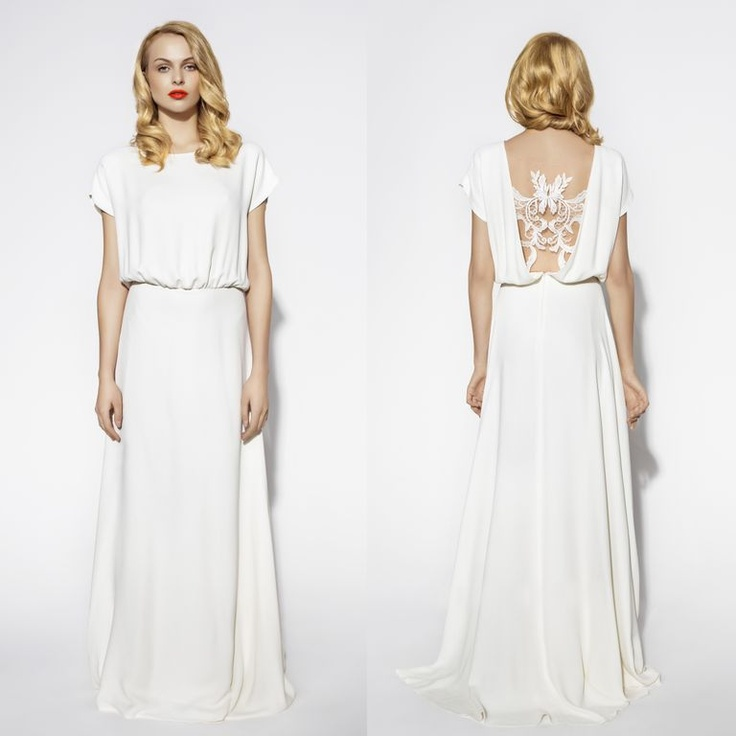 "Suknie ślubne Rina Cossack ""Wedding 2013"", lookbook, fot. Monika Motor"