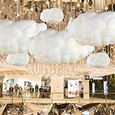 We love our do-it-at-home project for today. Introducing, the DIY Cloud Light! N…