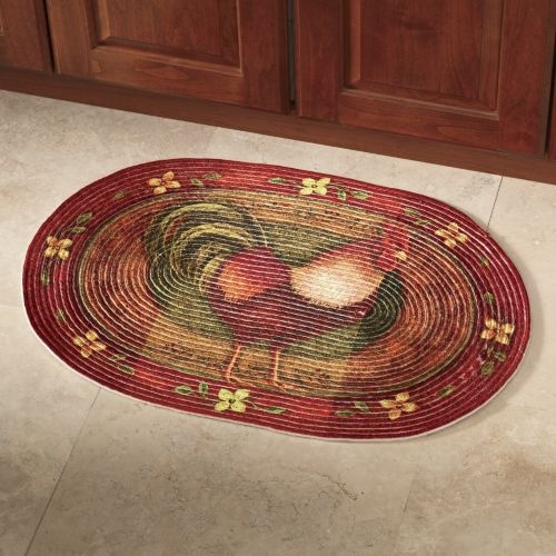 Rooster Braided Rug From Seventh Avenue