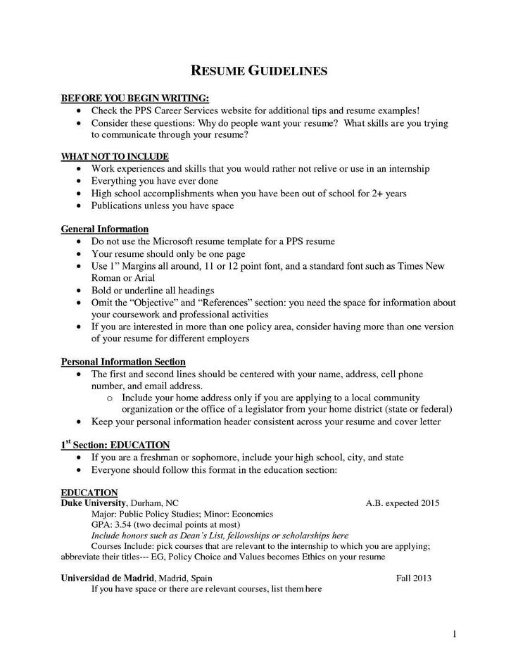 Should I Include High School On Resume Unique Should I