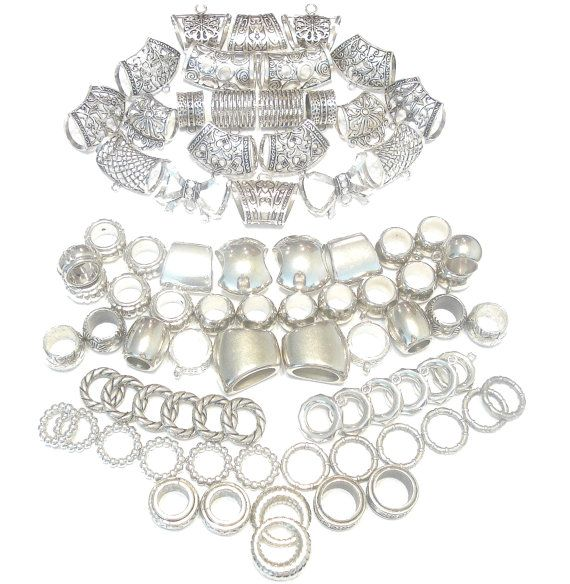 Scarf Jewelry Wholesale Super Package 82pcs  by coreringscarf, $62.99