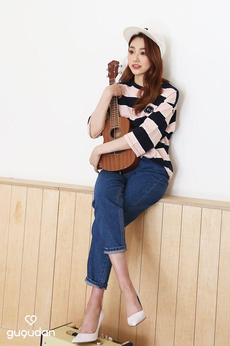 Nayeon Bias Wrecker 한국 스타일, 연예인, 청바지