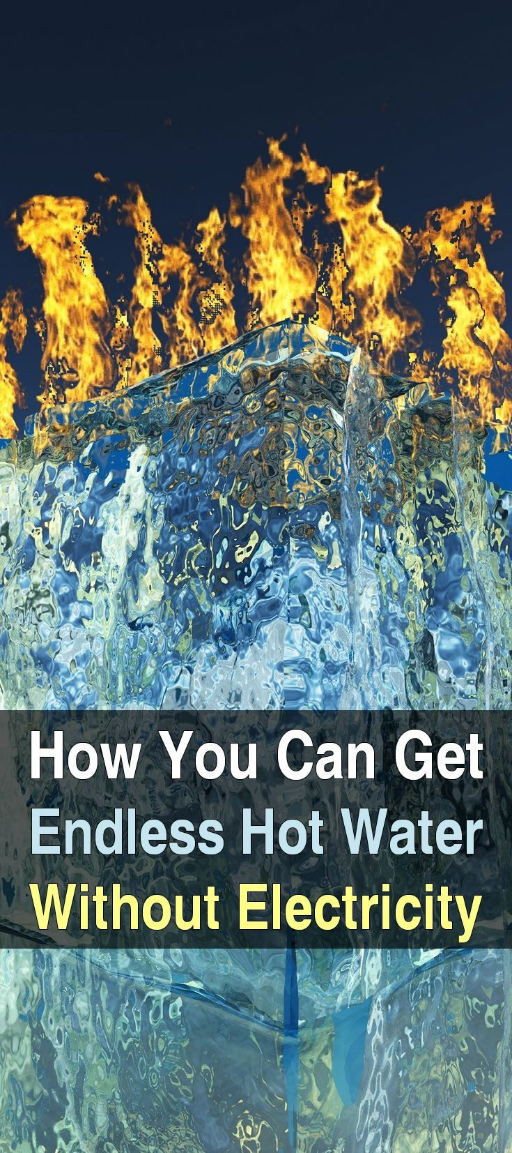 Endless Hot Water Without Electricity. Engineer775 has an ingenious setup where he can easily heat up water without using any electricity. Watch the video to see what I mean. #Urbnsurvivalsite #Hotwaterwithoutelectricity #Survival