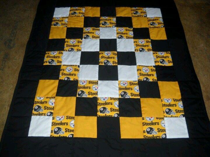 Steelers Quilt Steelers Pinterest