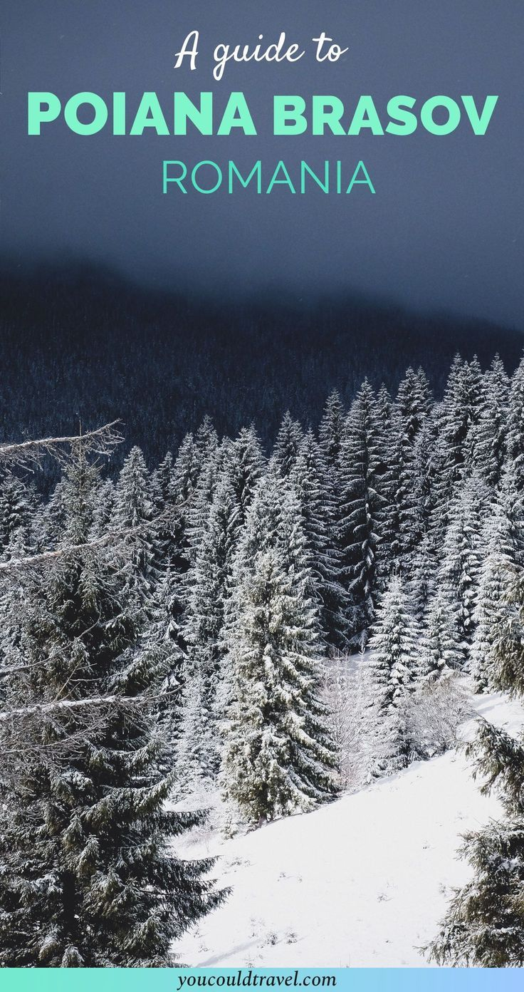A guide to Poiana Brasov, Romania - I can't help but associate Poiana Brasov with my childhood spent in Romania. Poiana Brasov is a part of Brasov, a popular ski resort in the country. Due to the cheaper prices, many tourists come to ski in Poiana Brasov from all over the world.