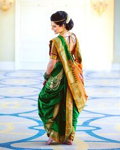 The Indian bride.