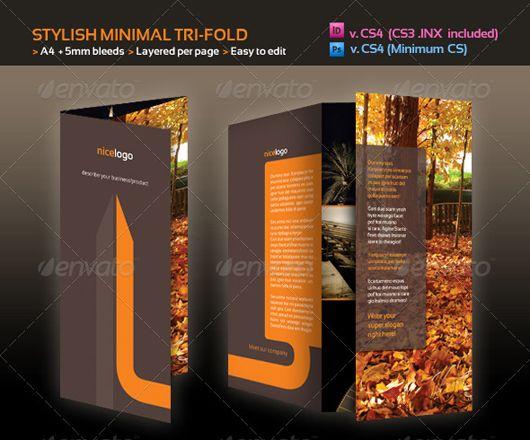 40 High Quality Brochure Design Templates | Bashooka | Cool ...