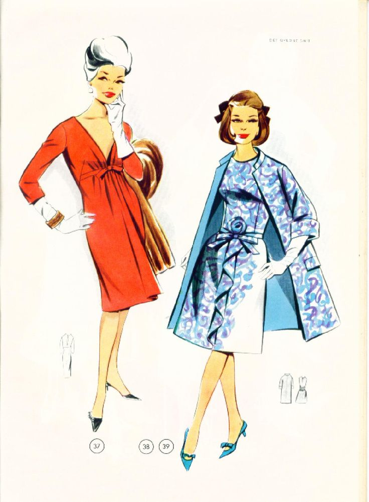 Vintage Sewing Patterns 99 winter 1965  Patternmaking