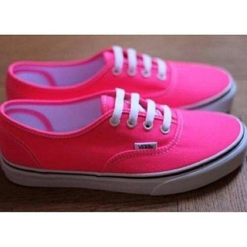 bright pink vans  7d2fd38db1db