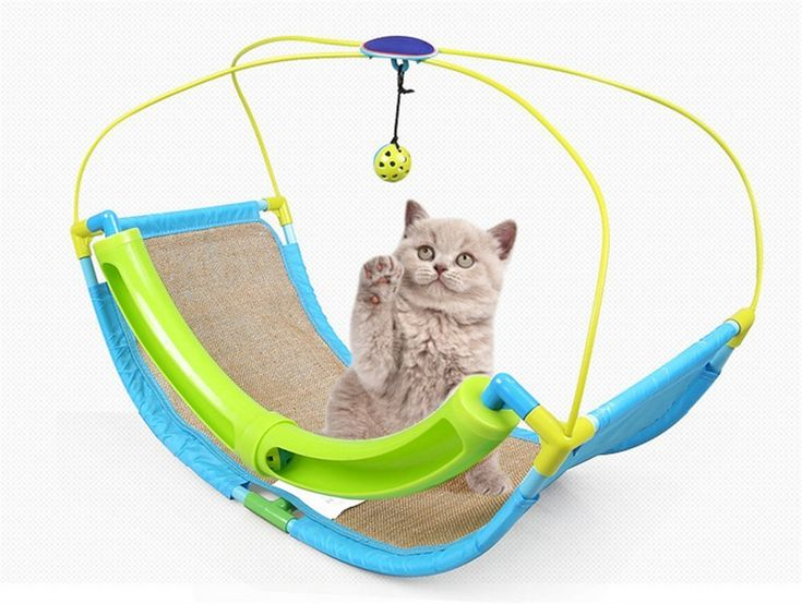 Vedem Cat Cradle Bed Cat Toy with Scratch Pad ** Details can be found by clicking on the image. (This is an affiliate link) #Catbedsandfurniture