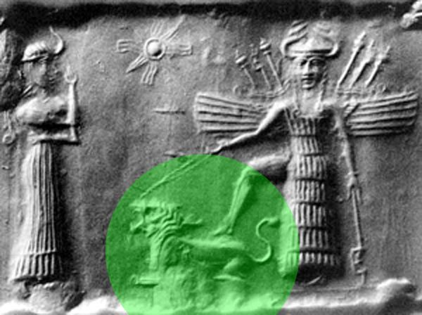 """According to Michael Tellinger,  the princess Inanna moved with a team of IGIGI, """"astronauts"""", to raise a civilization in the Indus Valley. The word """"Aryan"""" seems to come from the combination """"Ayur"""", life + """"An"""", sky, space. """"Those who live in the space"""" Here we see the warrior princess INANNA,-Inanna's personality totally matches with the Goddess Kali and it's just weird that in some artistic depictions or sculptures of Kali, her face is just identical to Sumerians steles."""