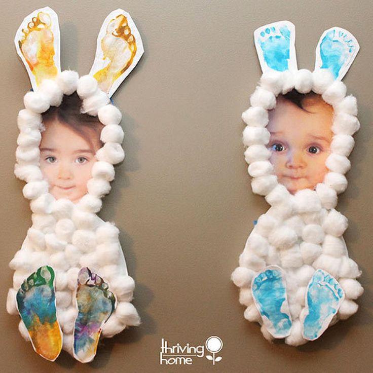 Grandma will LOVE this #Easter keepsake craft.