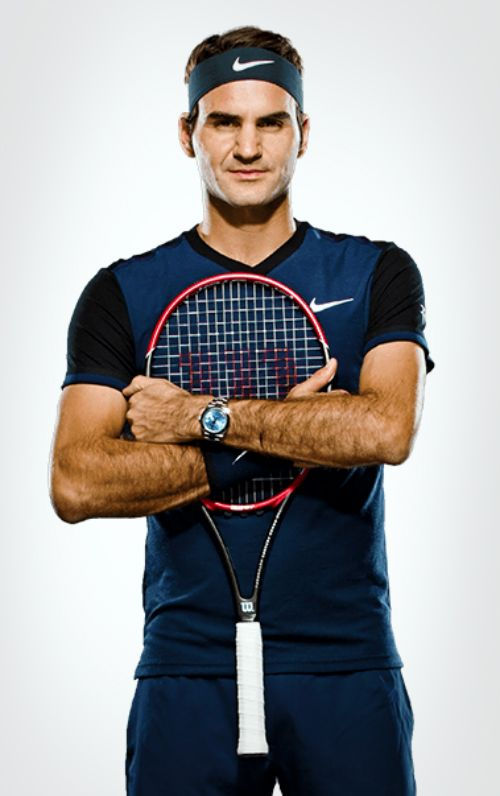 Roger Federer new profile on ATP  website