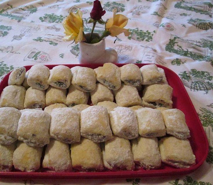 Omlós lekváros rudacska – Nagyon finom sütit, hasonlít a hájasra!