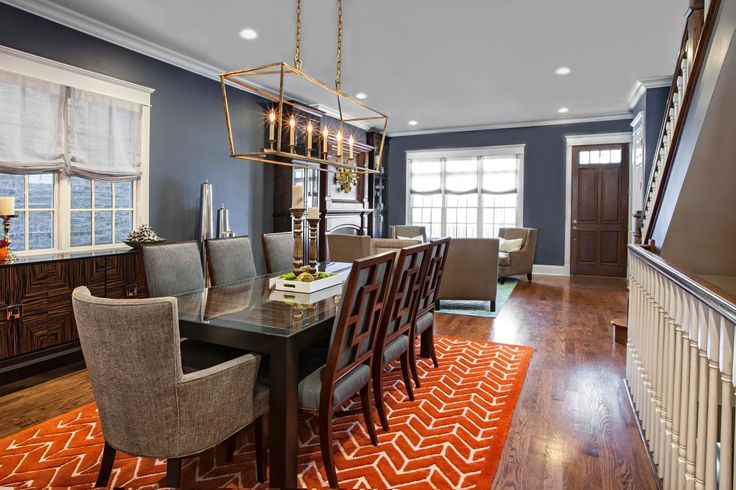25+ Best Ideas About Navy Dining Rooms On Pinterest