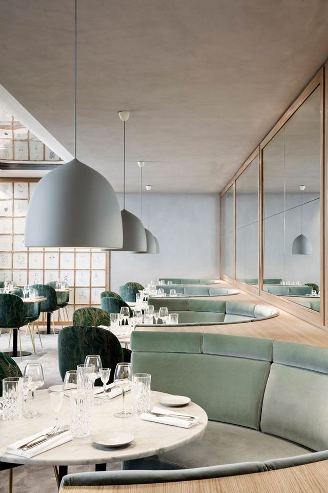 Located along the Champs-Élysées in Paris, Maison du Danemark has recently been renovated to include two exquisite new restaurants.