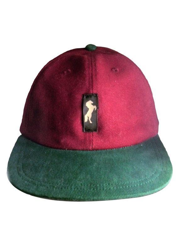 Just $10 – Only 3 Left |  NEW MarkDutch Snapback baseball cap burgundy n by MarkDutchInc
