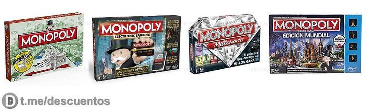 Juegos Monopoly de diferentes versiones desde 15 - http://ift.tt/2nQIJd4