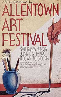 The Allentown Art Festival is an annual arts festival held in the Allentown neighborhood of Buffalo, New York.