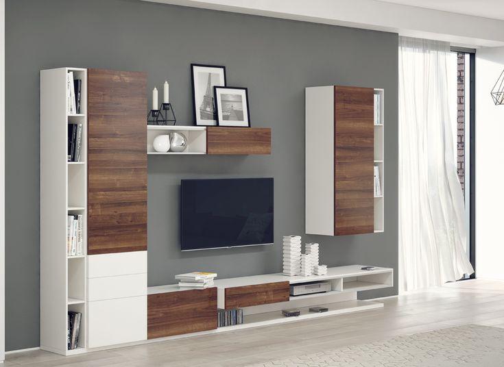 Мебель в гостиную серии Лозанна, купить мебель для гостиной Лозанна на заказ