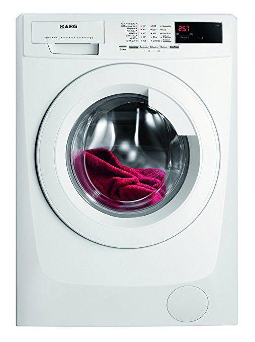 AEG LAVAMAT L68470FL Waschmaschine FL / A+++ / 171 kWh/Jahr / 1400 UpM / 7 kg / 9499 L/Jahr / ProSense - Mengenautomatik / Einfache Bedienung / weiß