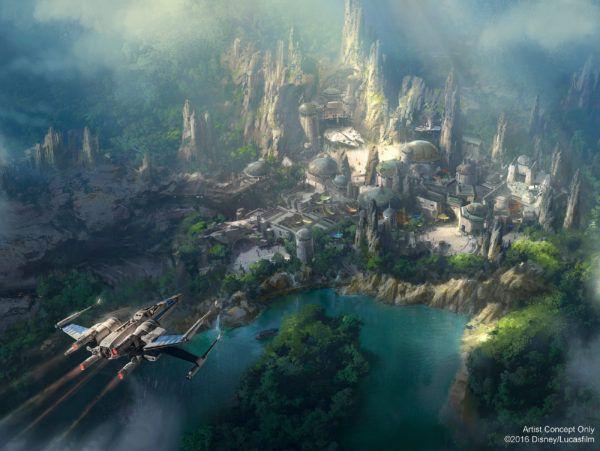 Disney's 'Star Wars Land' Concept Art Revealed