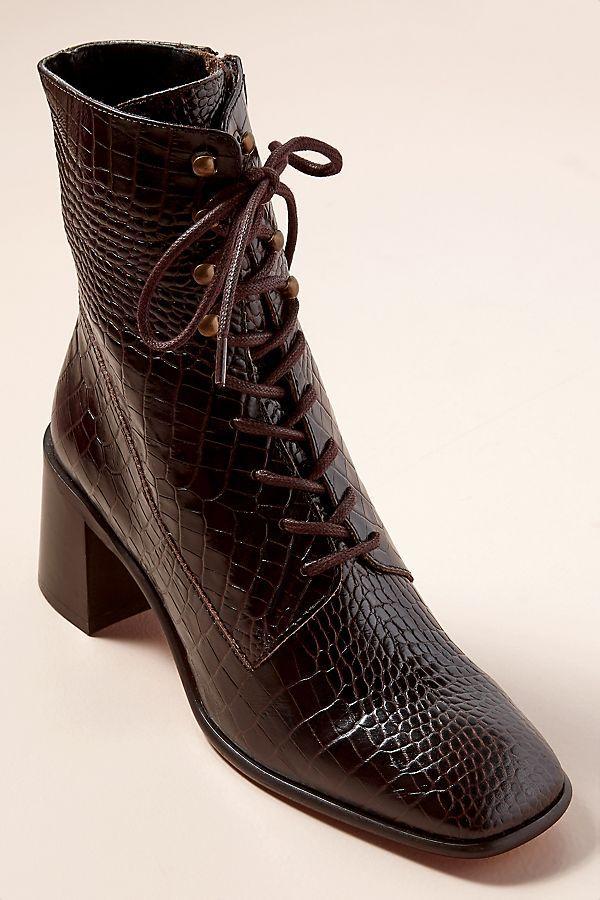 E8 by Miista Emma Merlot Boots   Fringues, Bottes