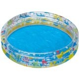Bestway 51004B - Planschbecken 3-Ring-Pool Deep Dive circa 152 cm