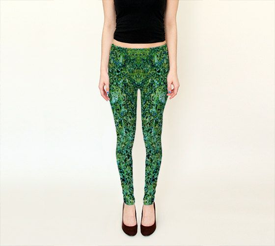 CONCRETO ABSTRACTO  Leggings    Wearable Art Women by JUST3Js