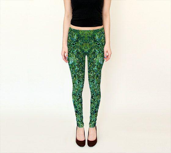 CONCRETO ABSTRACTO  Leggings    Wearable Art Women by JUST3Js