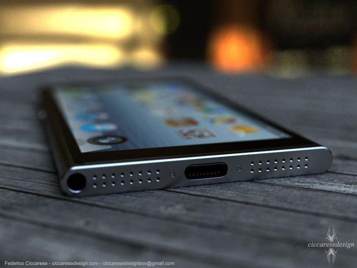 iPhone 6 ! Concept by Italian Designer Federico Ciccaresi, a nice Gadget!