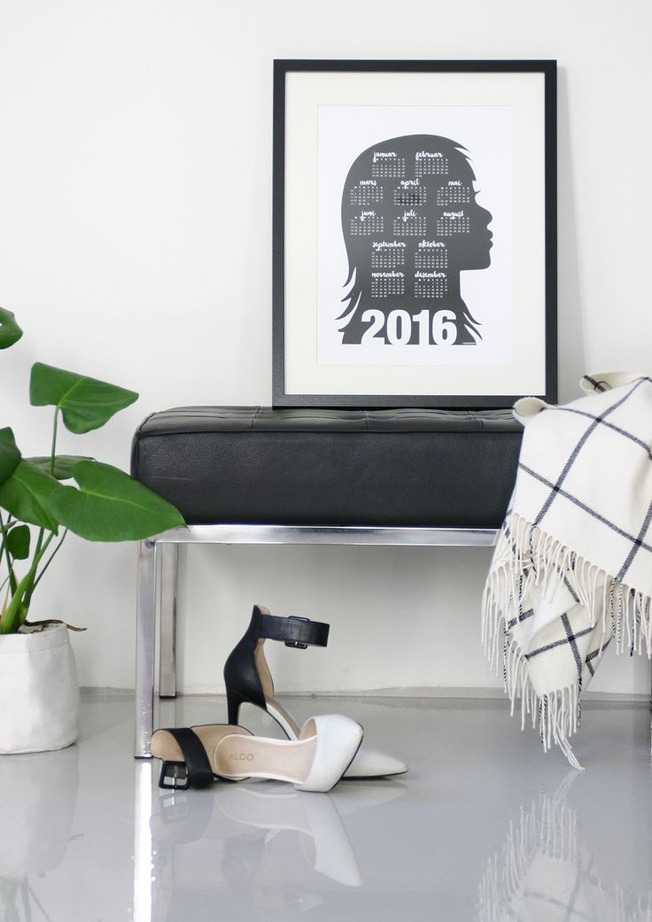 Calendar 2016 - Poster  Design by Designparken www.designparken.com