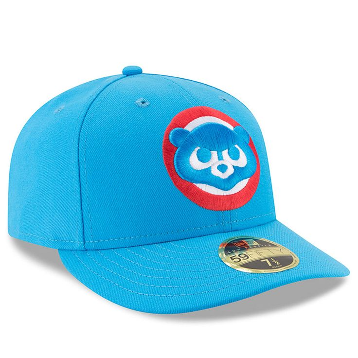 e957cbef317 New Era Chicago Cubs Blue 2017 Players Weekend Low Profile 59FIFTY Fitted  Hat