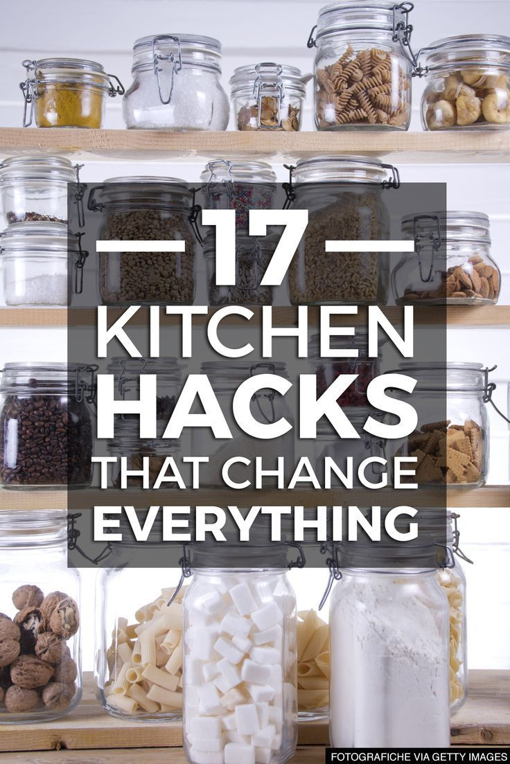 DIY home hacks to keep your kitchen clean & organized
