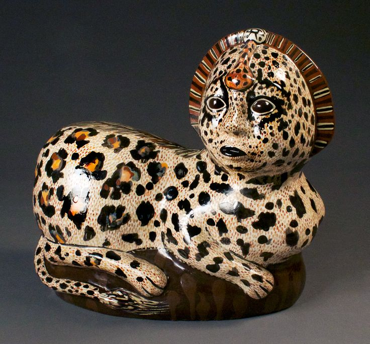 Peruvian Jaguar Sphinx by Canadian Artist Lindsay Montgomery 2014