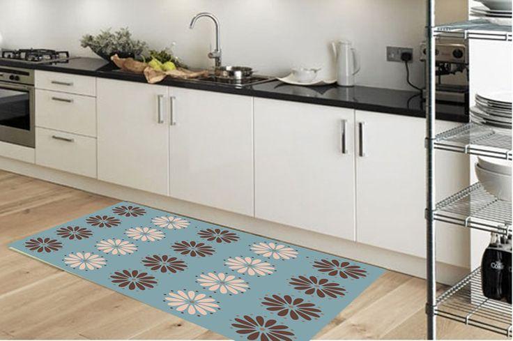 Kitchen rug - pattern 05- suitable for kitchen, bathroom, entrance, garden  / kitchen floor mat / kitchen mat / pattern rug by Printip on Etsy