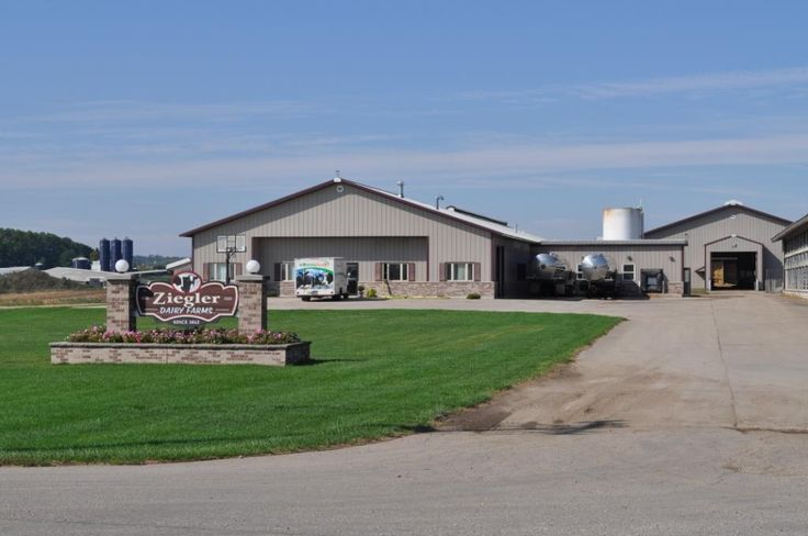 Dairy Freestall In Southern Wisconsin Wick Buildings