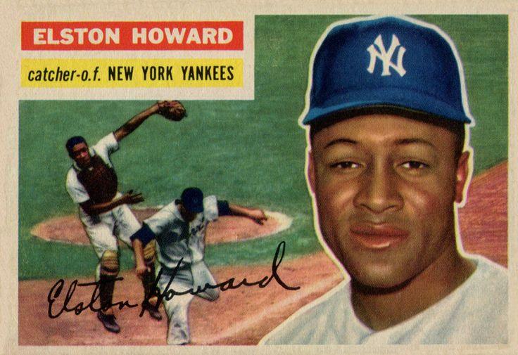 1956 Topps Elston Howard