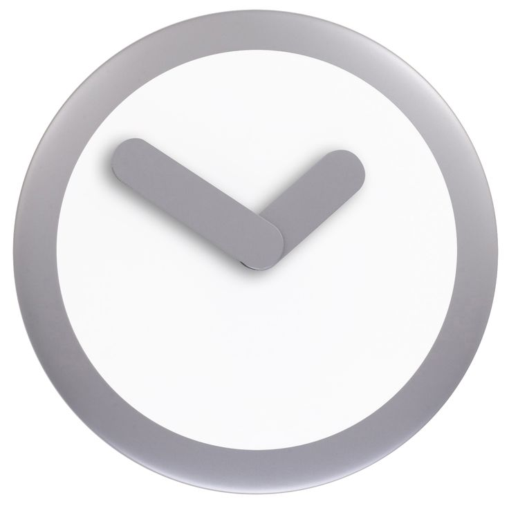Simplicity is the new trend!!! Grey Wall Clock