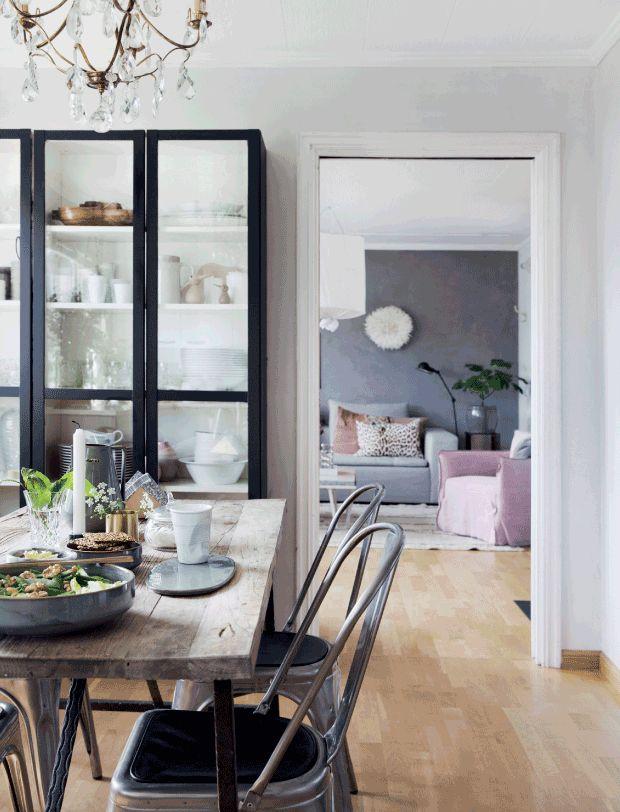 Un Apartamento Nordico Con Tres Comedores Shopping Para Conseguir El Estilo