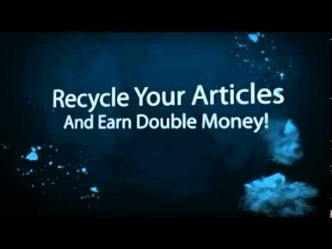 Make extra money writing articles
