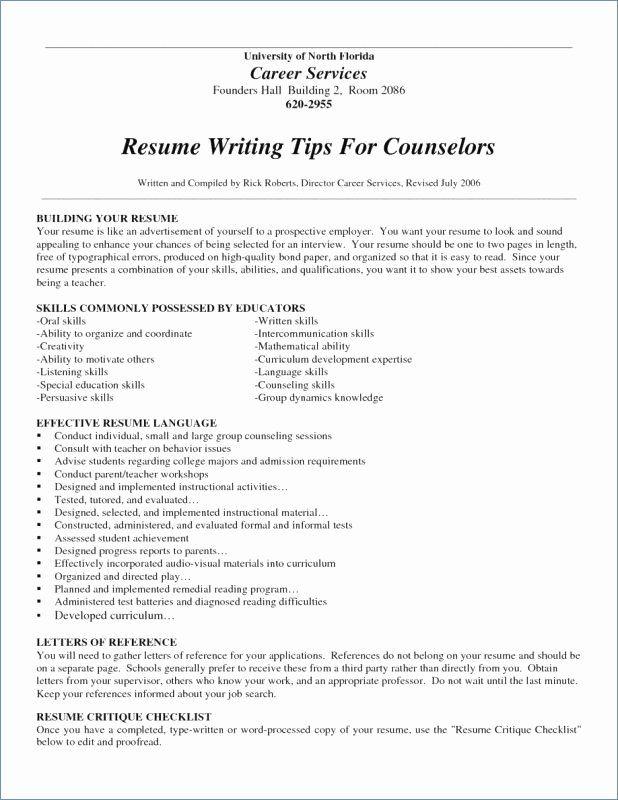 Reentering The Workforce Resume Examples Beautiful 11 12 Returning To Workforce Resume Resume Writing Tips Resume Writing Examples Resume Writing
