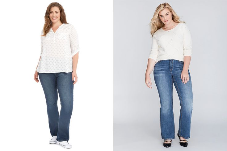 Wild Child Bootleg Jean, $79.99 from Farmers and Lane Bryant Boot Jean, $153.60