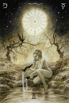 """Varda, the Star goddess of the Elves...they worshiped her and beloved her the most...""""with your eyes on the stars above, water and grow your dreams on the earth, so they may grow into trees that will shelter others from the storms of life"""""""