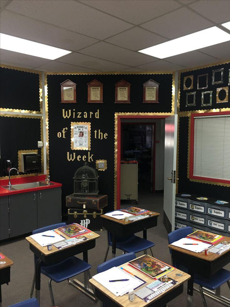 Harry Potter Classroom Decorations ~ Best vintage classroom decor ideas on pinterest