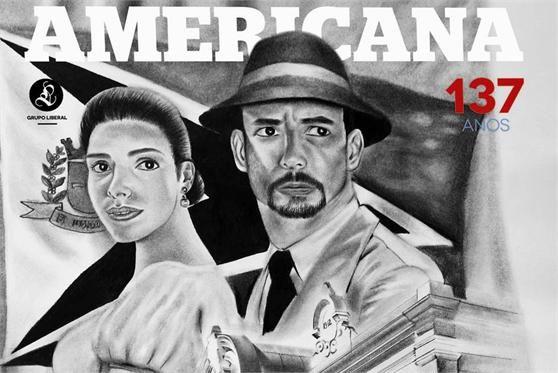 Capa da Revista Americana 137 anos do Grupo Liberal de Comunicação
