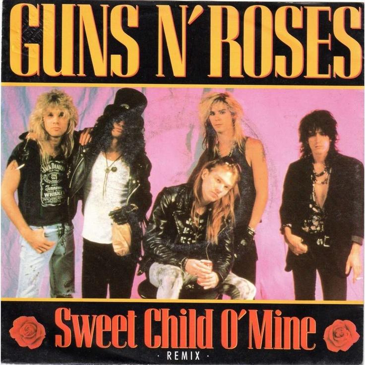 """Guns N' Roses, """"Sweet Child O' Mine,"""" 1988"""