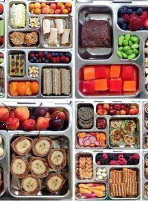 Gluten-Free Lunchbox Roundup: 40 Kid-Friendly & Allergy-Friendly Lunch Recipes... from grain free, to vegan, to gluten free grains - there's a bit of everything in here for everyone!