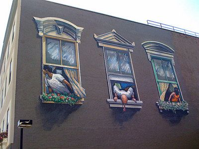 38 best images about cincinnati on pinterest bobs the for 6 blocks from downtown mural