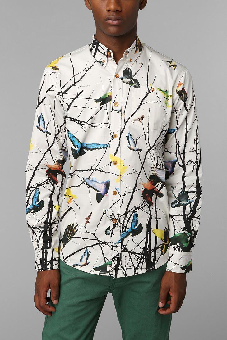 Staple Twain Button-Down Shirt